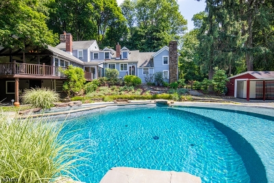 Bernardsville Boro Single Family Home For Sale: 168 Anderson Hill Rd