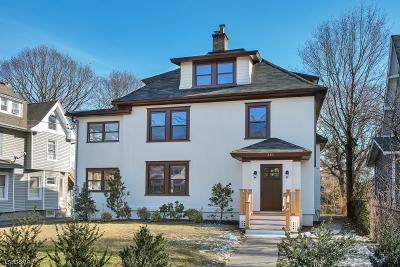 Montclair Twp. Single Family Home For Sale: 283 Orange Rd