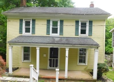 Bethlehem Twp., High Bridge Boro Single Family Home For Sale: 40 Taylor St