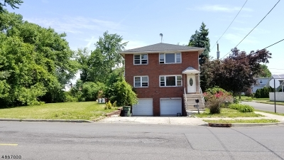 Linden City Multi Family Home For Sale: 200 Cranford Ave