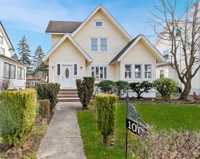 South Orange Village Twp. Single Family Home For Sale: 100 Holland Rd