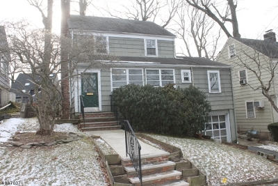 Maplewood Twp. Single Family Home For Sale: 22 Broadview Ave