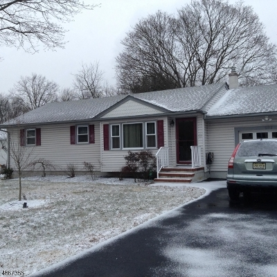 Bridgewater Twp. Single Family Home For Sale: 107 Maple St