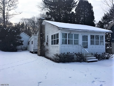 Roxbury Twp. Single Family Home For Sale: 13 King Rd