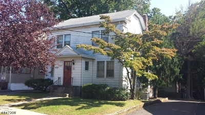 Maplewood Twp. Single Family Home For Sale: 22-24 Van Ness Ter