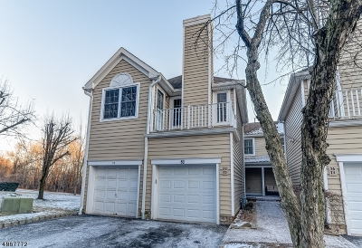 Berkeley Heights Condo/Townhouse For Sale: 80 Springholm Dr