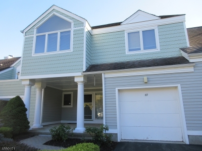 Sparta Twp. Condo/Townhouse For Sale: 69 Manor Sq