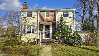 WestField Single Family Home For Sale: 107 Scotch Plains Ave