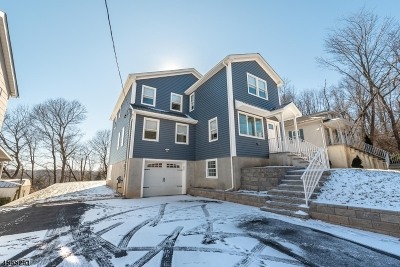 West Orange Twp. Single Family Home For Sale: 562 Mt Pleasant Ave