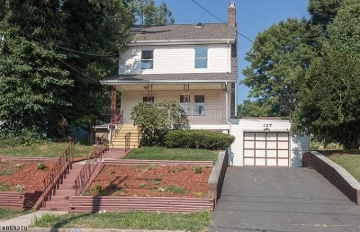 West Orange Twp. NJ Single Family Home For Sale: $359,999
