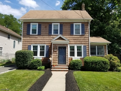 Fanwood Boro Single Family Home For Sale: 214 Belvidere Ave