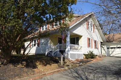 Mendham Boro, Mendham Twp. Single Family Home For Sale: 1 Orchard St
