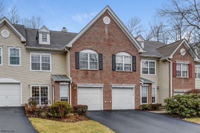 Bernards Twp. Condo/Townhouse For Sale: 118 Constitution Way