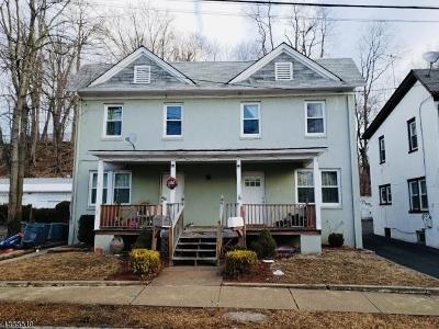 Morristown Town Multi Family Home For Sale: 28 Garden St