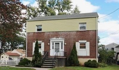 Cranford Twp. Rental For Rent: 122 Besler Ave #1