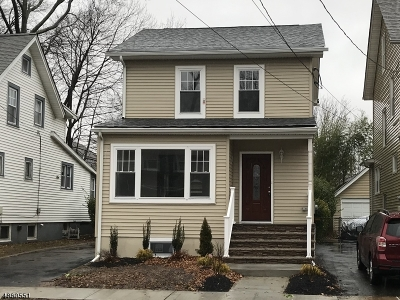 Maplewood Twp. Single Family Home For Sale: 30 Revere Ave