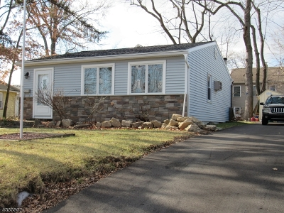 Parsippany Single Family Home For Sale: 55 Washington Ave