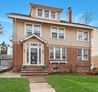 Maplewood Twp. Single Family Home For Sale: 56 Park Ave