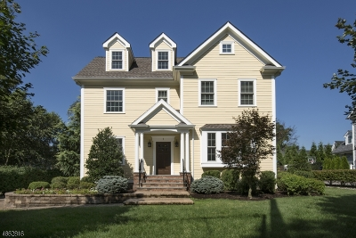 Madison Boro Single Family Home For Sale: 7 Loantaka Terrace