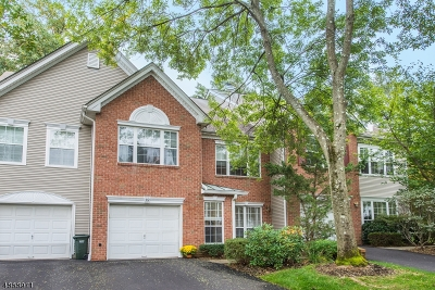 Bernards Twp. Condo/Townhouse For Sale: 12 Knox Ct