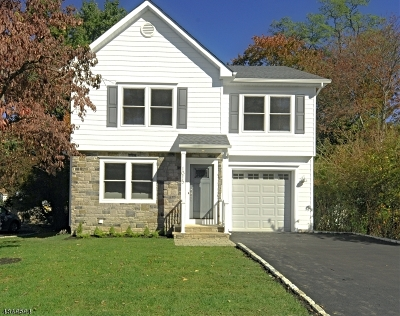 Westfield Town NJ Single Family Home For Sale: $749,900