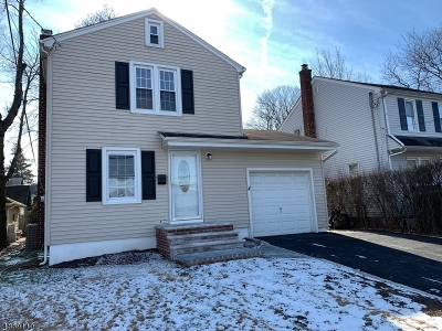 Nutley Twp. NJ Single Family Home For Sale: $369,900