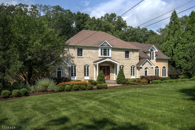 Califon Boro, Tewksbury Twp. Single Family Home For Sale: 52 Hill And Dale