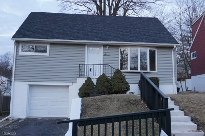 West Orange Twp. NJ Single Family Home For Sale: $354,900