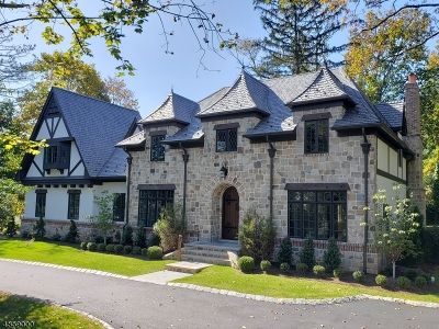 Westfield Town NJ Single Family Home For Sale: $2,299,000