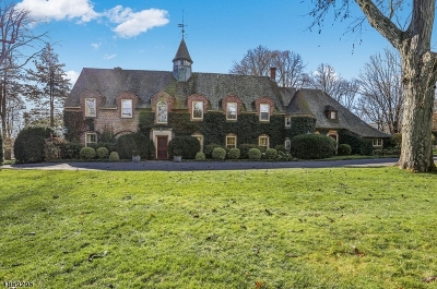 Harding Twp. NJ Single Family Home For Sale: $3,900,000