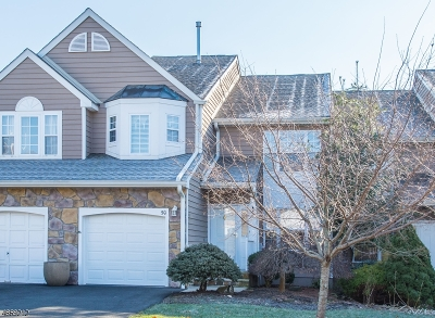 Long Hill Twp Condo/Townhouse For Sale: 50 Stonehedge Rd
