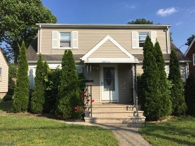 Passaic City Single Family Home For Sale: 191 Willett St