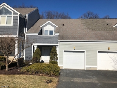 Sparta Twp. Condo/Townhouse For Sale: 57 Manor Sq