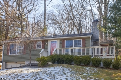 Sparta Twp. Single Family Home For Sale: 11 Hillside Rd