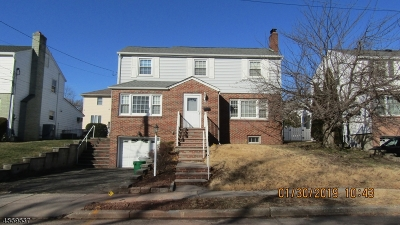 Nutley Twp. NJ Single Family Home For Sale: $360,000