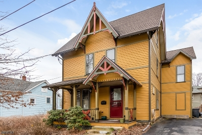 High Bridge Boro Single Family Home For Sale: 6 Taylor St