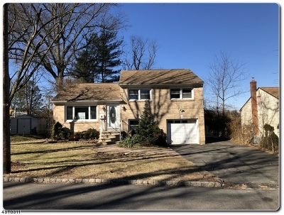 West Orange Twp. NJ Single Family Home For Sale: $384,900
