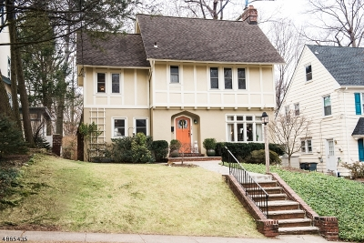 Maplewood Twp. Single Family Home For Sale: 22 Park Ave