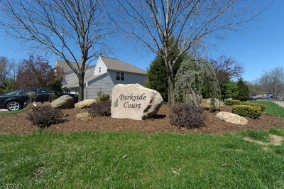 Wayne Twp. Condo/Townhouse For Sale: 36 Parkside Ct #36