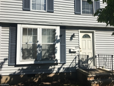 East Orange City NJ Condo/Townhouse For Sale: $169,000