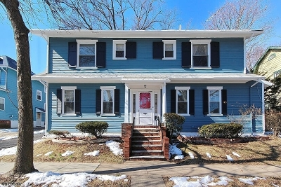 South Orange Village Twp. Single Family Home For Sale: 159 Holland Rd