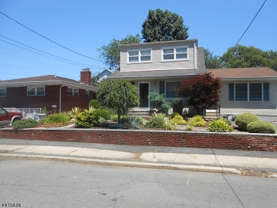 Nutley Twp. NJ Single Family Home For Sale: $298,000