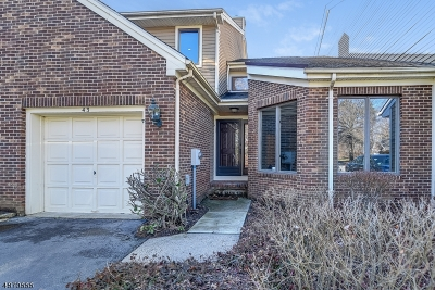 Montville Twp. Condo/Townhouse For Sale: 43 Lenox Ct
