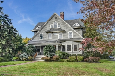 Montclair Twp. Single Family Home For Sale: 10 Erwin Park