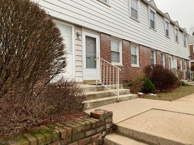 City Of Orange Twp. NJ Condo/Townhouse For Sale: $138,900