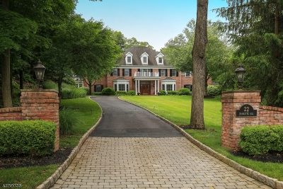 Bernardsville Boro Single Family Home For Sale: 22 Charlotte Hill Dr