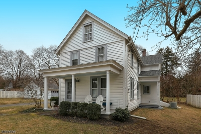 Peapack Gladstone Boro Single Family Home For Sale: 6 Mosle Rd