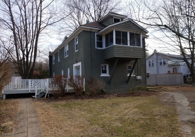 Franklin Boro Multi Family Home For Sale: 386 Rutherford Ave