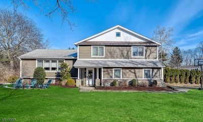 Millburn Twp. Single Family Home For Sale: 26 Oval Rd