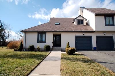 Bernards Twp. NJ Condo/Townhouse For Sale: $519,000